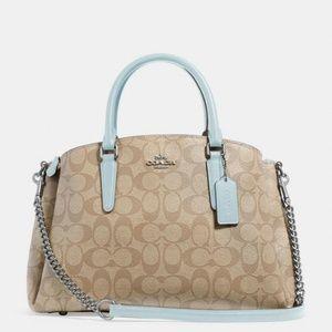 NWT Coach Sage Carryall Signature Canvas handbag